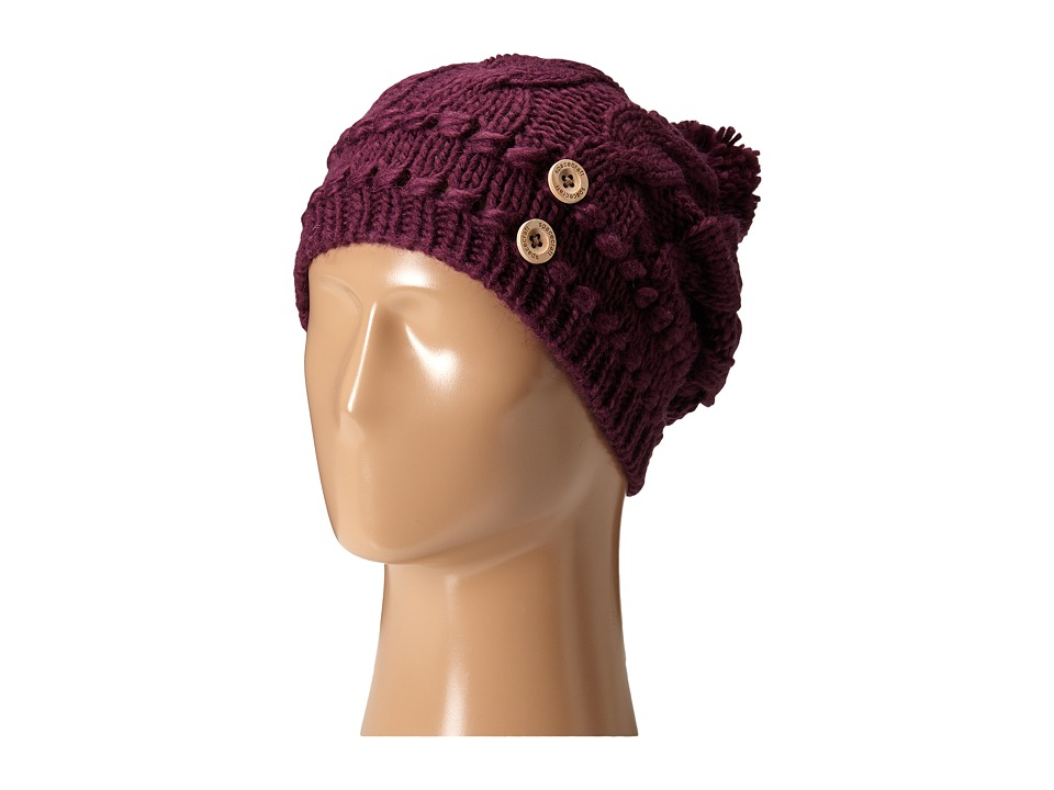 Spacecraft - Juniper Pom (Wine) Beanies