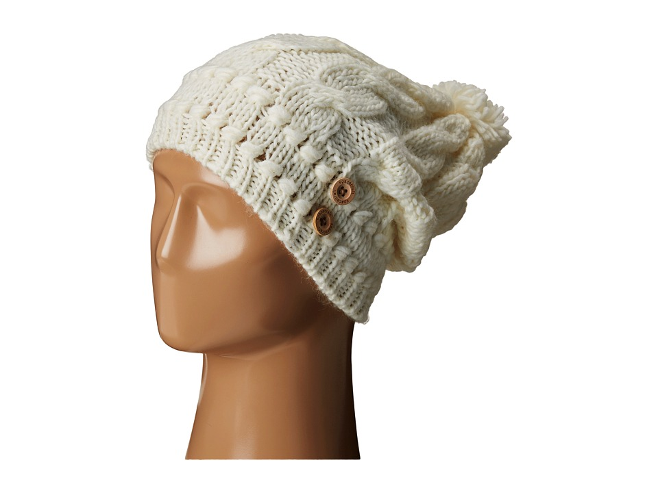 Spacecraft - Juniper Pom (White) Beanies