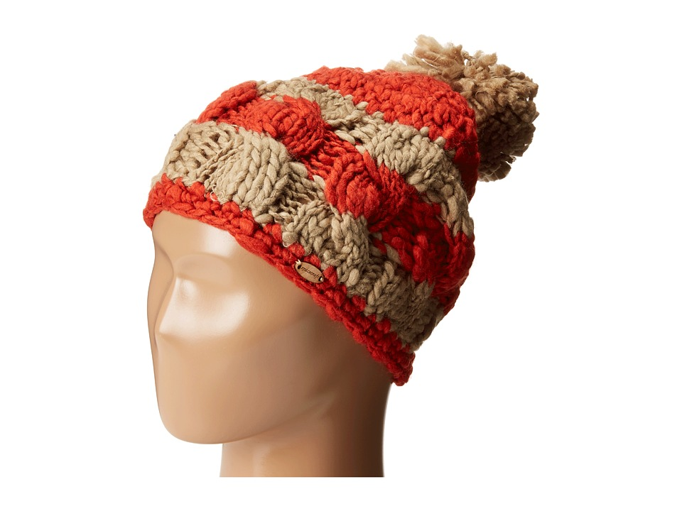 Spacecraft - Ella Stripe Pom (Red) Caps