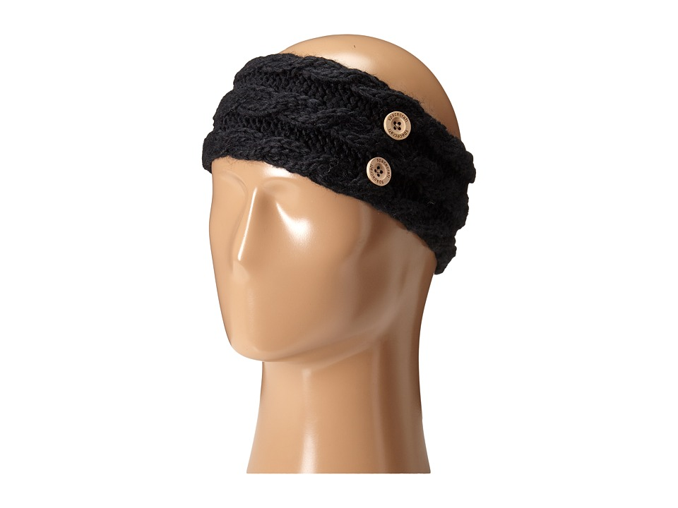 Spacecraft - Juniper Headband (Black) Caps