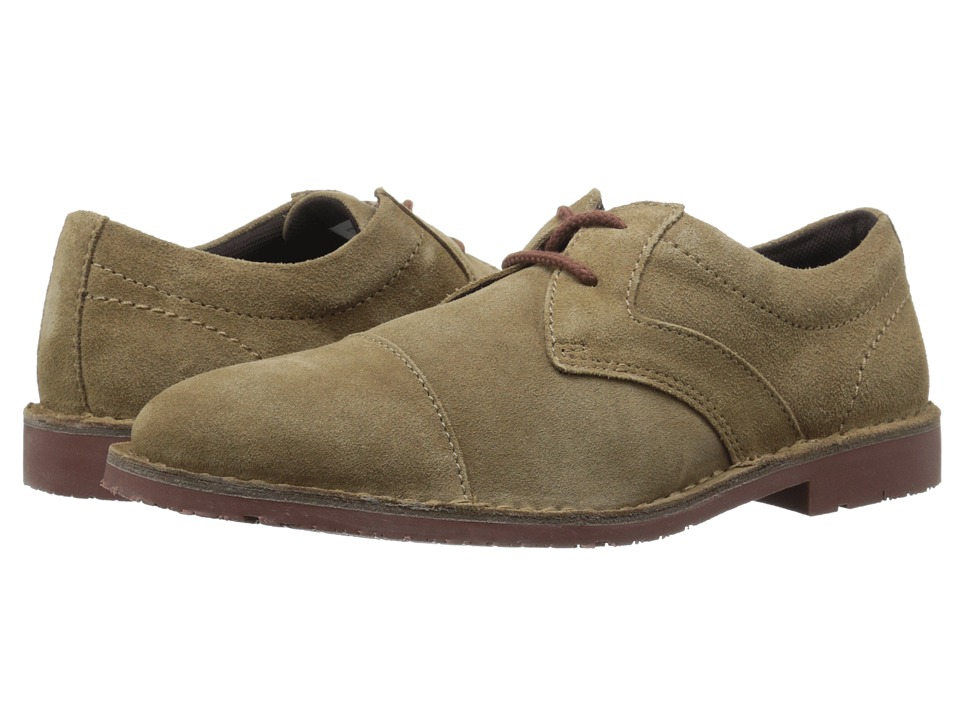 Rockport - Urban Edge Captoe Oxford (New Vicuna Suede) Men's Lace up casual Shoes