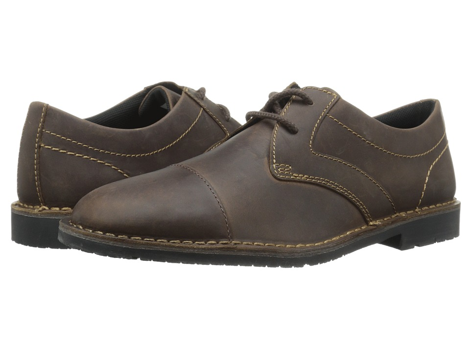 Rockport - Urban Edge Captoe Oxford (Dark Brown) Men
