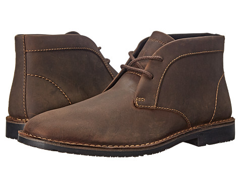 Rockport - Urban Edge Chukka (Dark Brown) Men's Lace-up Boots