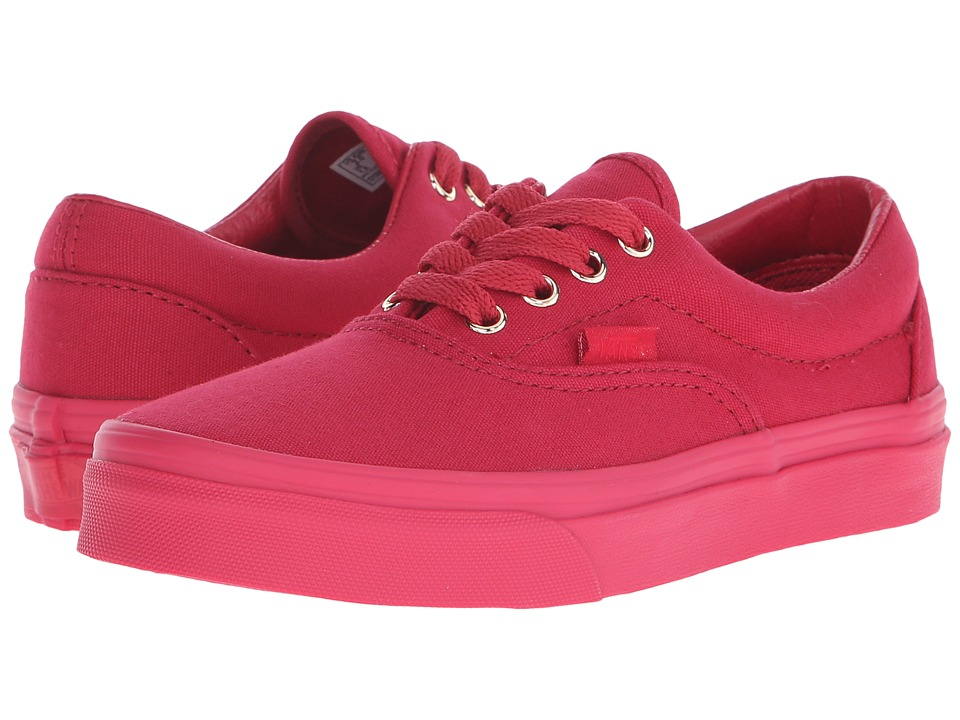 Vans Kids - Era (Little Kid/Big Kid) ((Gold Mono) Crimson) Boys Shoes