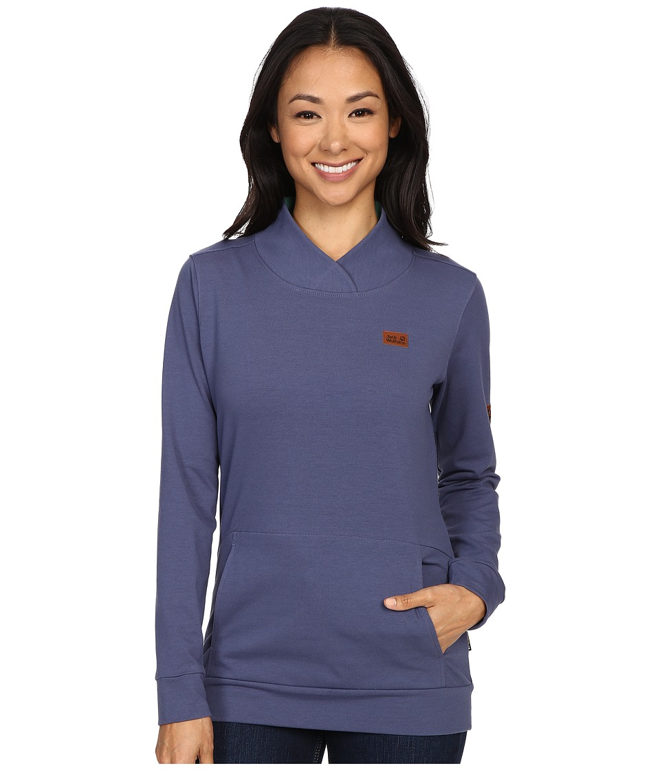 Jack Wolfskin - Sambesi Pullover (Blue Indigo) Women's Clothing