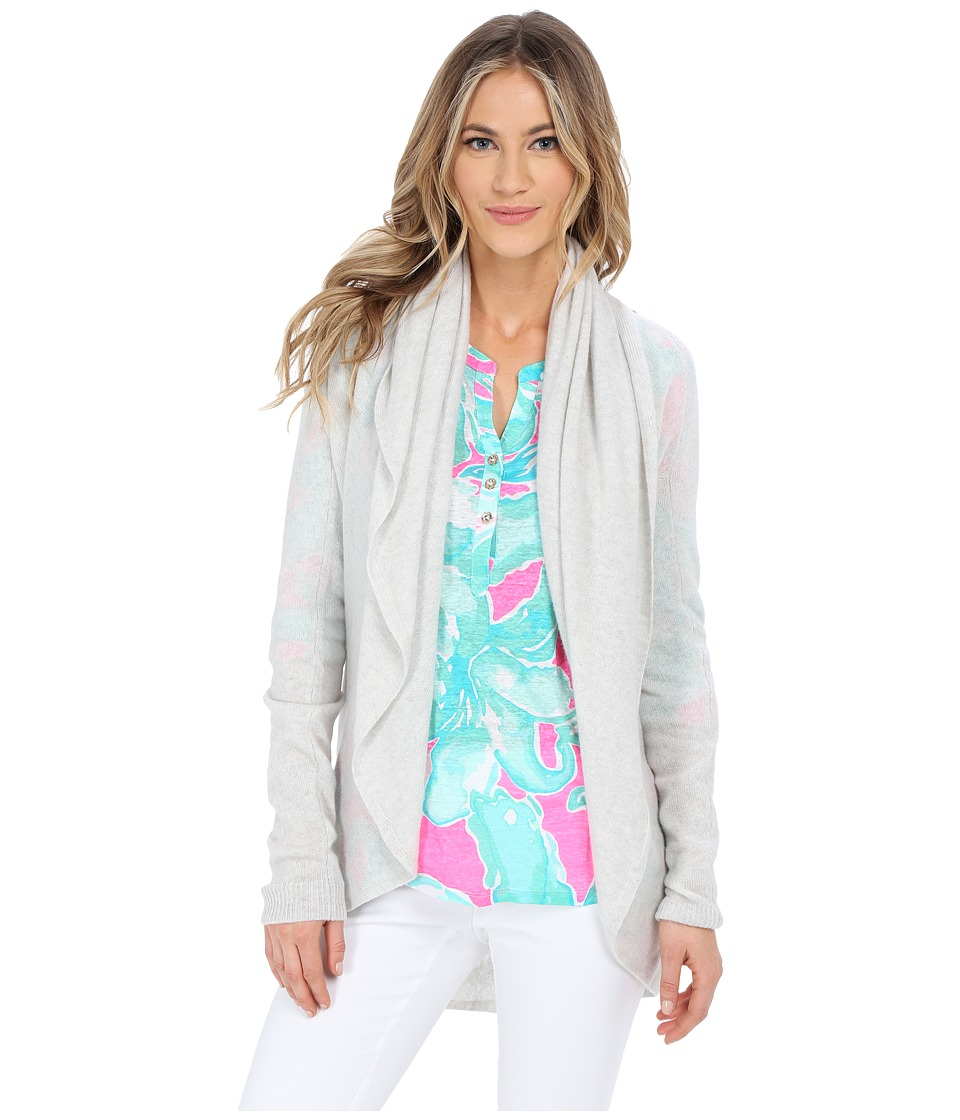 Lilly Pulitzer - Hayden Cashmere Cardigan (Heathered PB) Women's Sweater