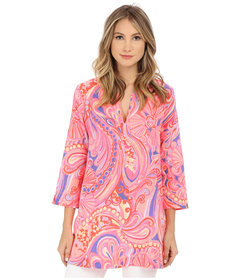 Lilly Pulitzer - Marco Island Tunic (Multi Reef Retreat) Women's Blouse