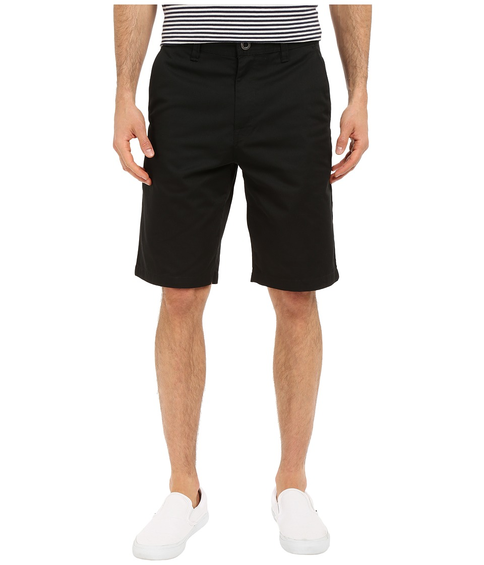 Volcom - Frickin Chino Shorts (Black) Men's Shorts