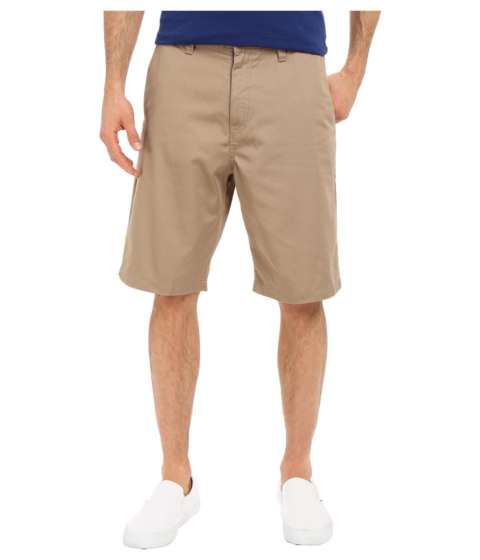 Volcom - Frickin Chino Shorts (Khaki) Men's Shorts