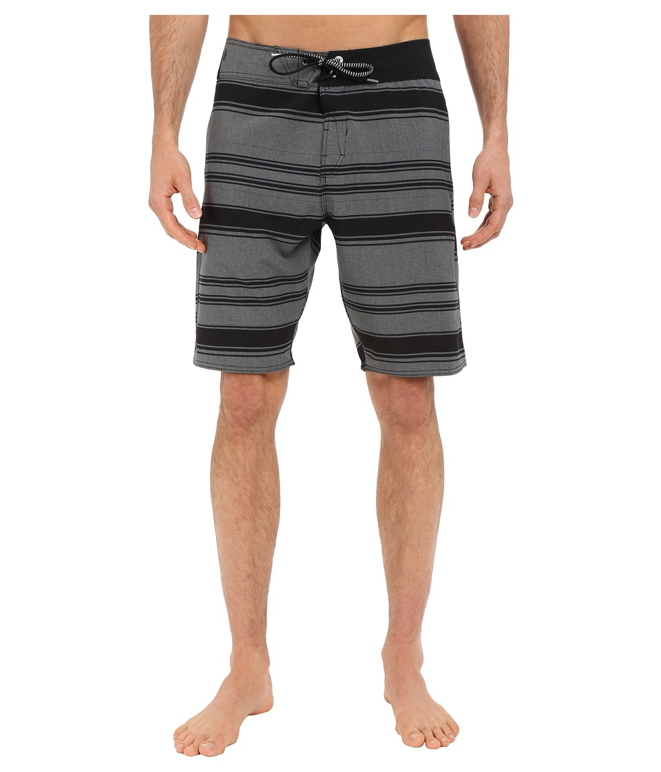 Volcom - Static Layer Mod 20 Boardshorts (Black) Men's Swimwear
