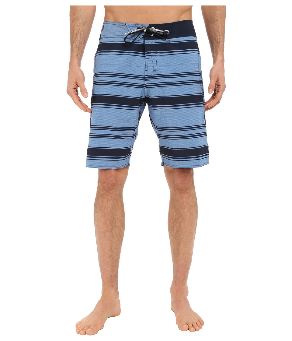 Volcom - Static Layer Mod 20 Boardshorts (Estate Blue) Men's Swimwear