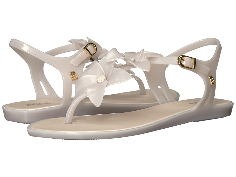 Melissa Shoes - Solar Garden II (White/Milk) Women's Dress Sandals
