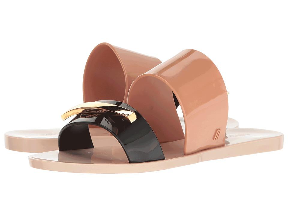 Melissa Shoes - Wonderful II (Pink/Black) Women's Dress Sandals
