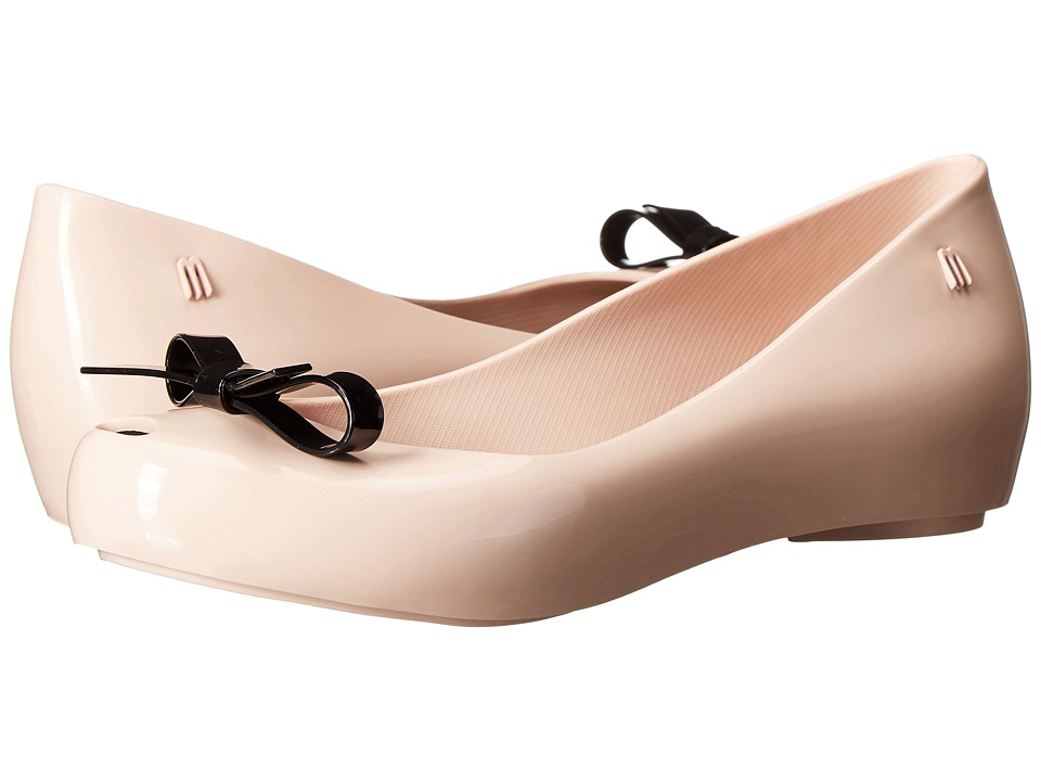 Melissa Shoes Ultragirl Bow (Pink/Black) Women