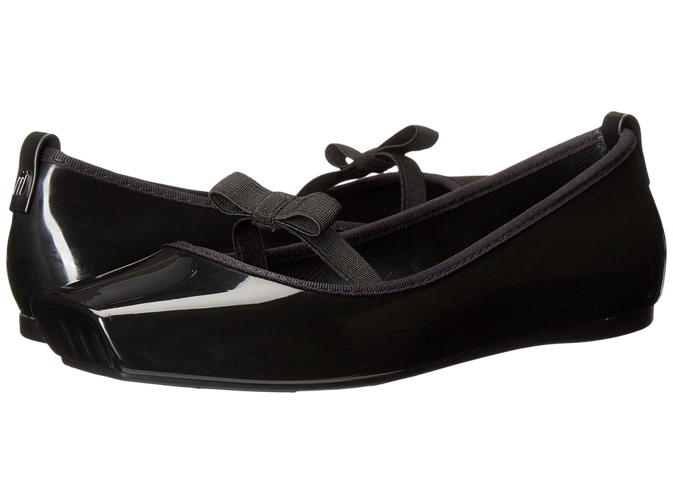 Melissa Shoes - Ballet Bow (Black) Women's Dress Sandals