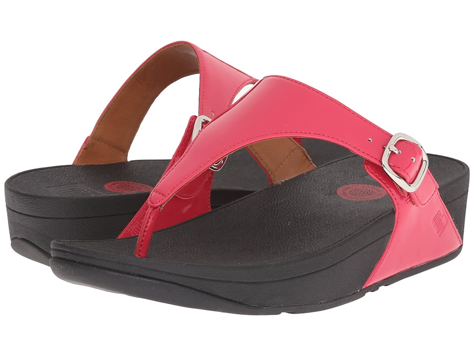 FitFlop - The Skinny Patent (Bubblegum) Women's Shoes