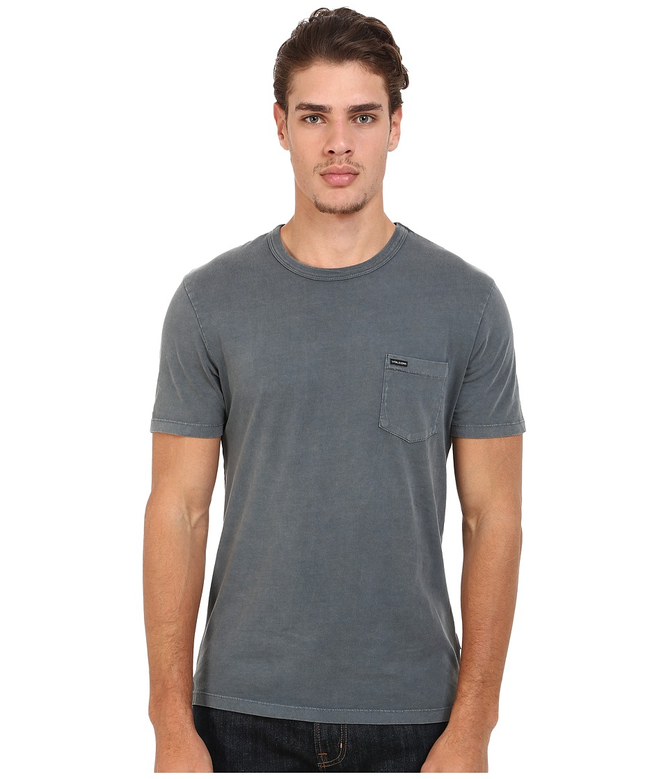 Volcom - Quartz Crew (Putty) Men's T Shirt