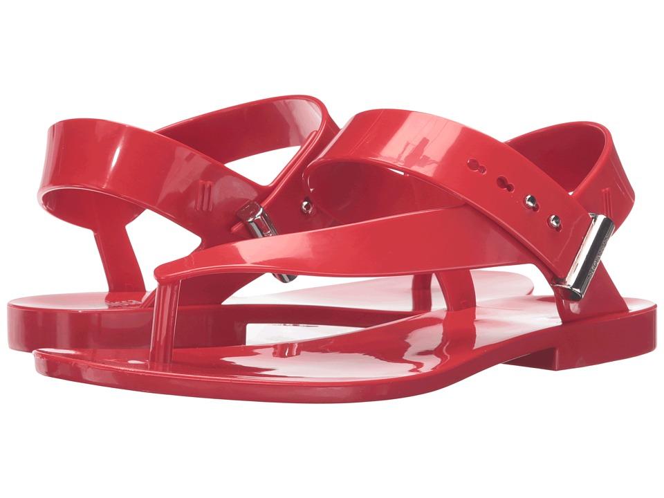 Melissa Shoes - Charlotte + Jason Wu (Red) Women's Dress Sandals