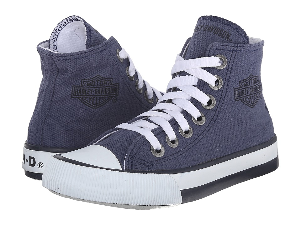 Harley-Davidson - Patch (Little Kid/Big Kid) (Blue) Lace up casual Shoes