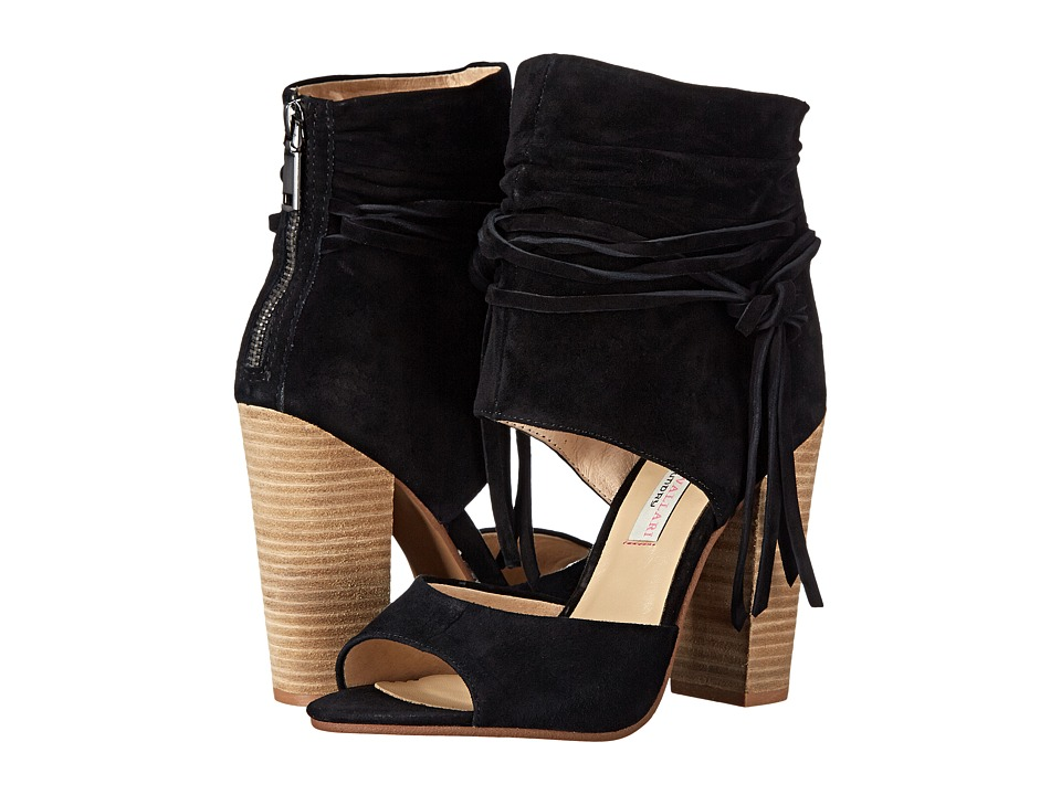 Kristin Cavallari - Leigh-2 Two Piece Sandal (Black) High Heels