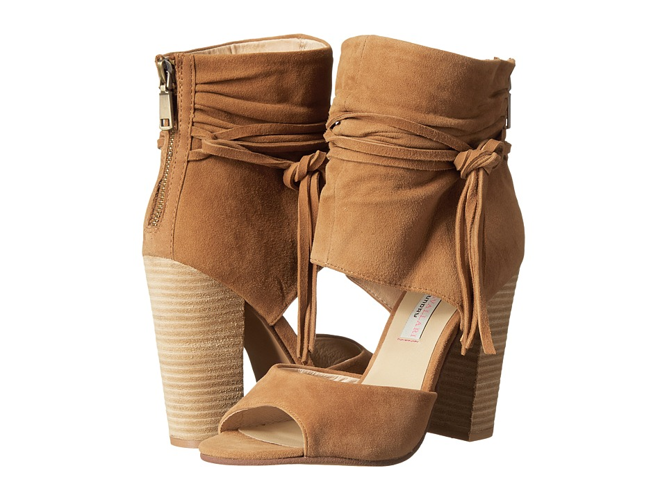 Kristin Cavallari Leigh-2 Two Piece Sandal (Dark Camel) High Heels