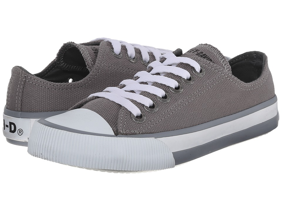 Harley-Davidson - Rascal (Little Kid/Big Kid) (Grey) Lace up casual Shoes
