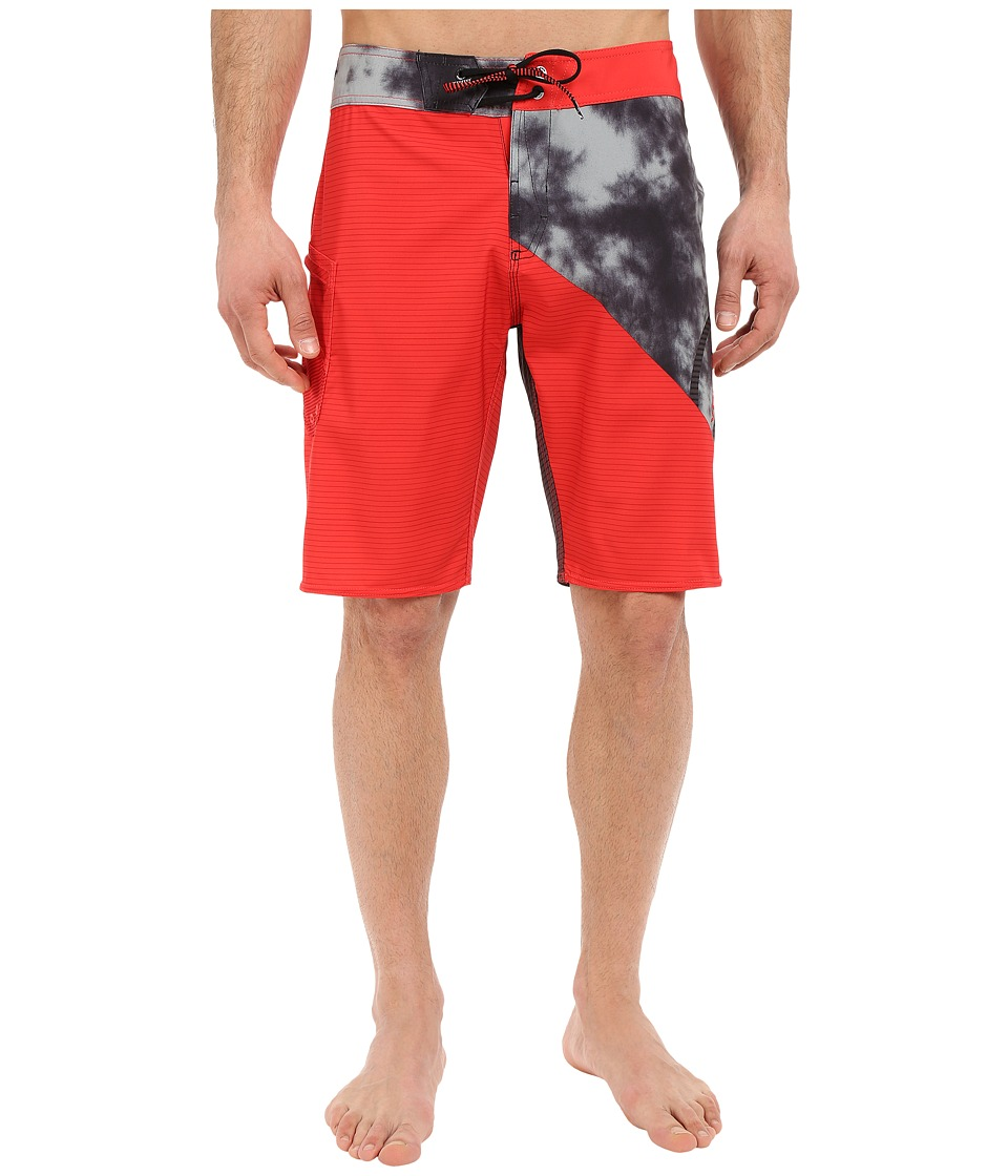 Volcom - Liberate Lido Mod 21 Boardshorts (Flash Red) Men's Swimwear