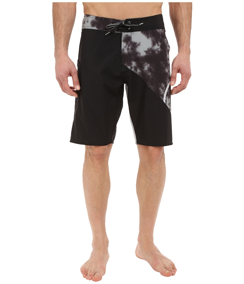 Volcom - Liberate Lido Mod 21 Boardshorts (Black) Men's Swimwear