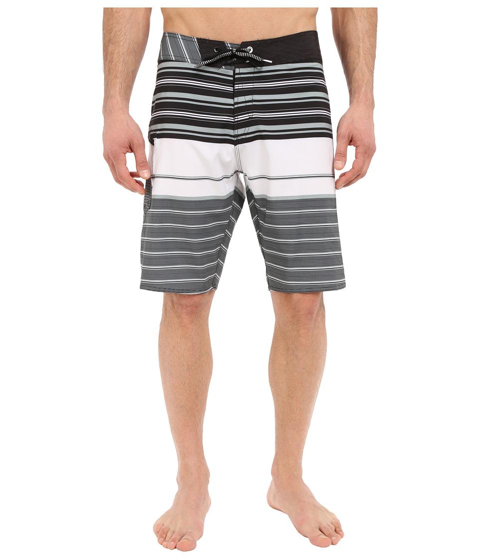 Volcom - Lido Liner Mod 20 Boardshorts (White) Men's Swimwear