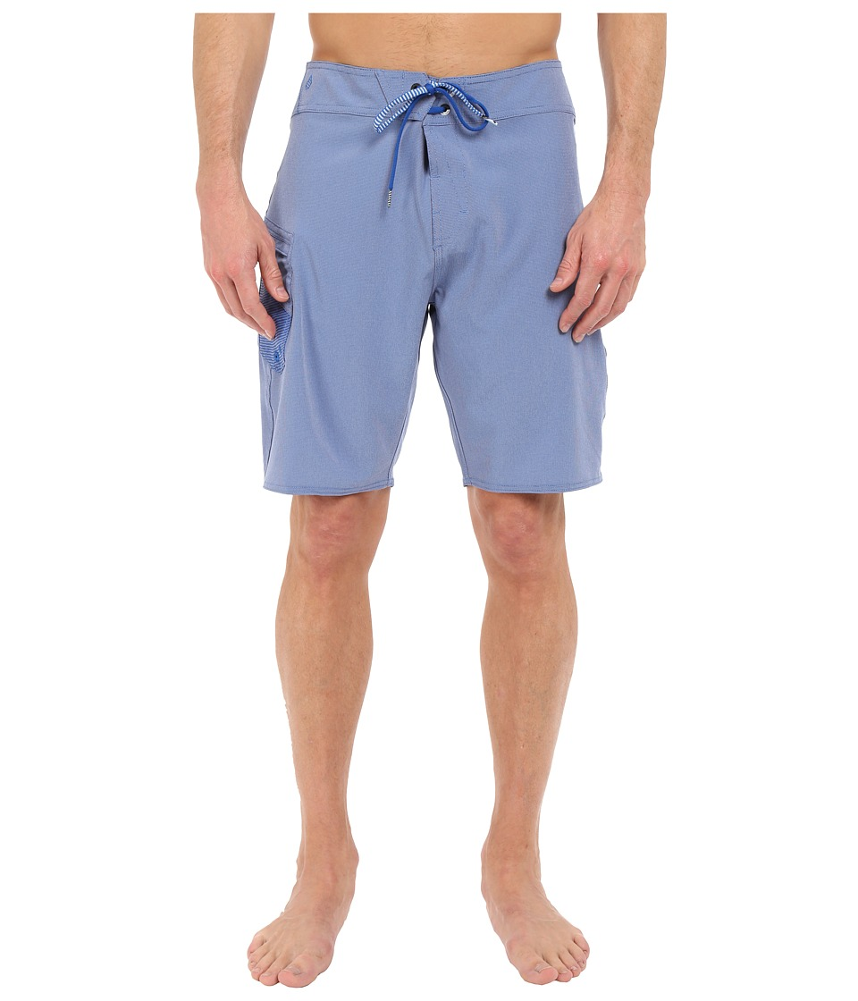 Volcom - Lido Heather Mod 20 Boardshorts (Estate Blue) Men's Swimwear