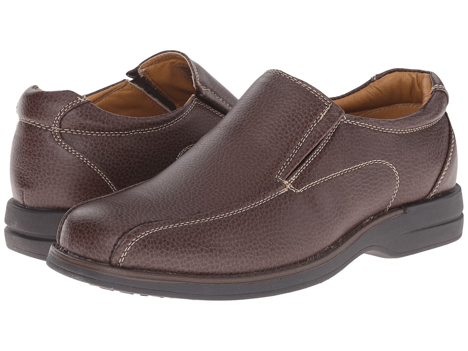 Soft Stags - Dave (Brown) Men's Slip on Shoes