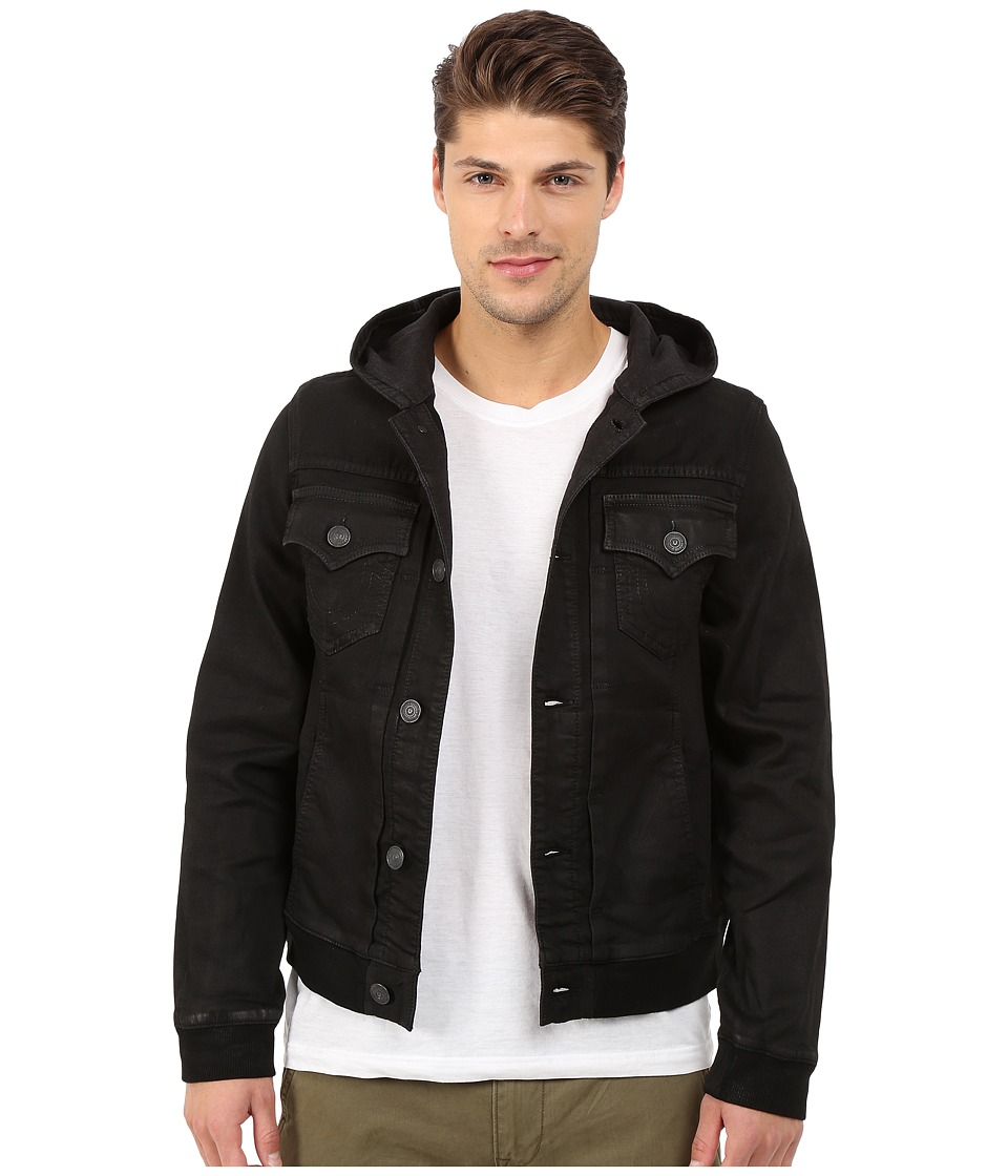 True Religion - Dylan Jacket with Hood (Night Drifter) Men's Jacket