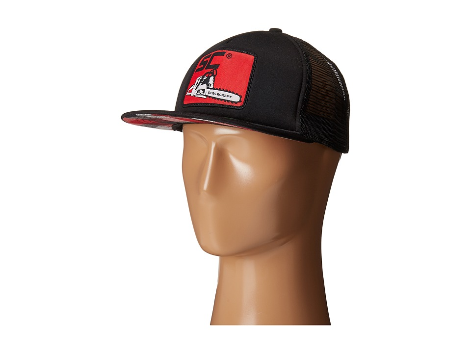 Spacecraft - Clearcut Trucker (Black) Caps