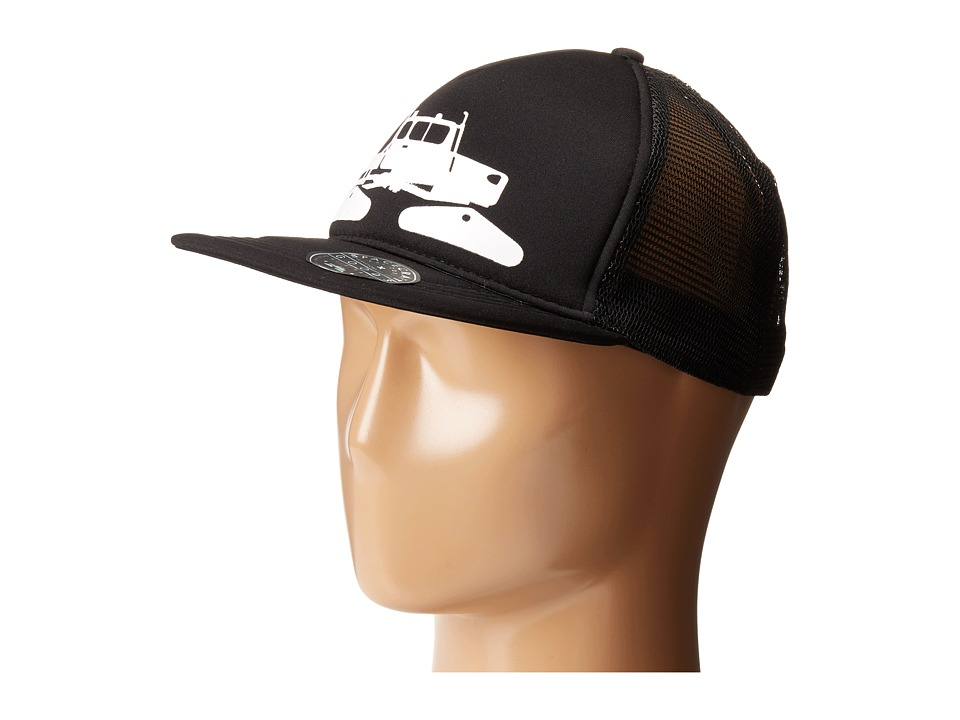Spacecraft - Snowcat Trucker (Black) Caps