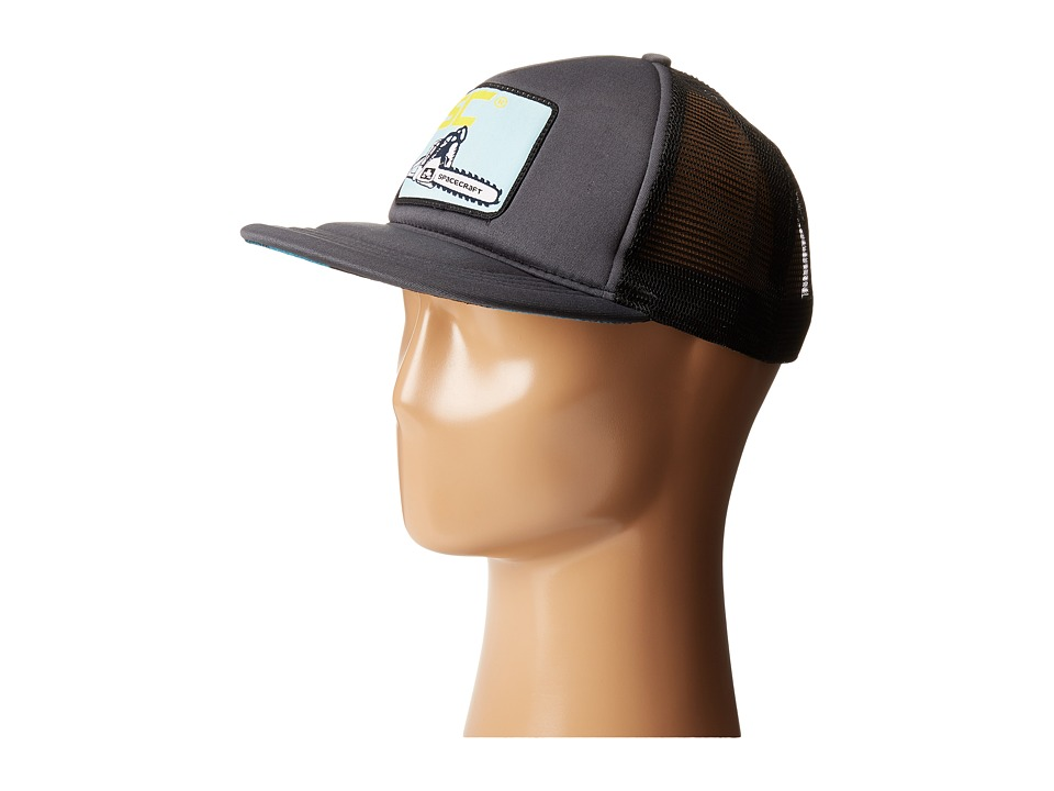 Spacecraft - Clearcut Trucker (Dark Grey) Caps
