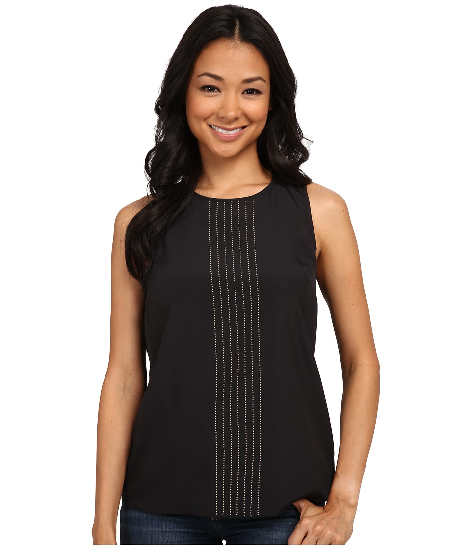 MICHAEL Michael Kors - Sleeveless Top (Black) Women's Sleeveless