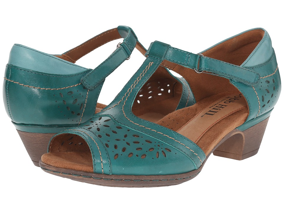 Rockport - Cobb Hill Alyssa (Teal) Women's Shoes