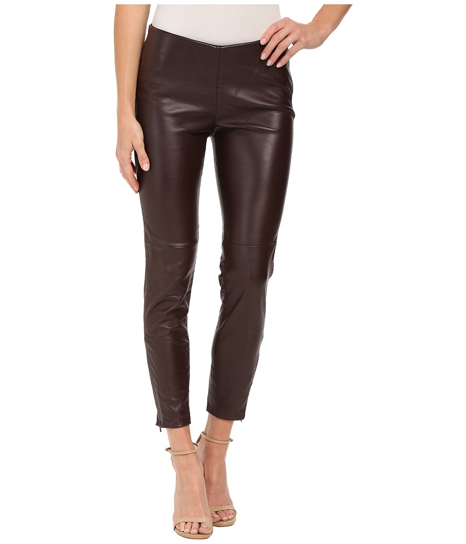 Free People - Vegan Leggings (Oxblood) Women's Casual Pants