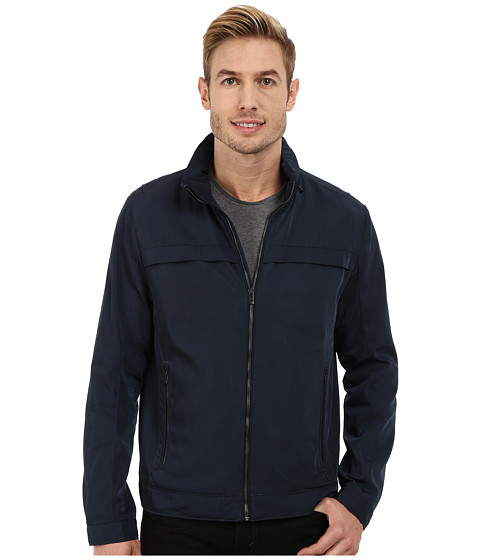 Calvin Klein - Seasonal Color Edi Jkt ( 40zc563) (Officer Navy) Men's Coat