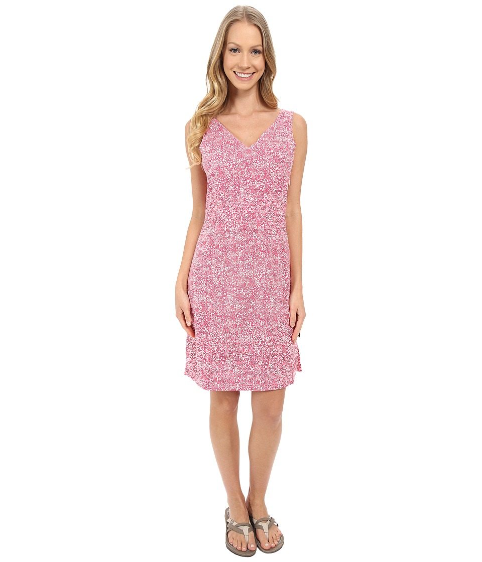 Jack Wolfskin Wahia Print Dress (Pink Raspberry All Over) Women