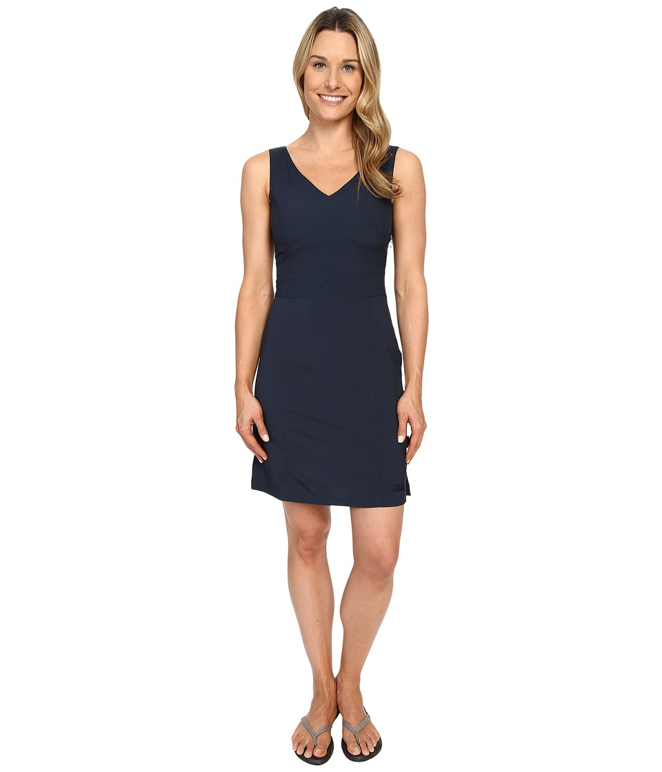 Jack Wolfskin Wahia Dress (Night Blue) Women