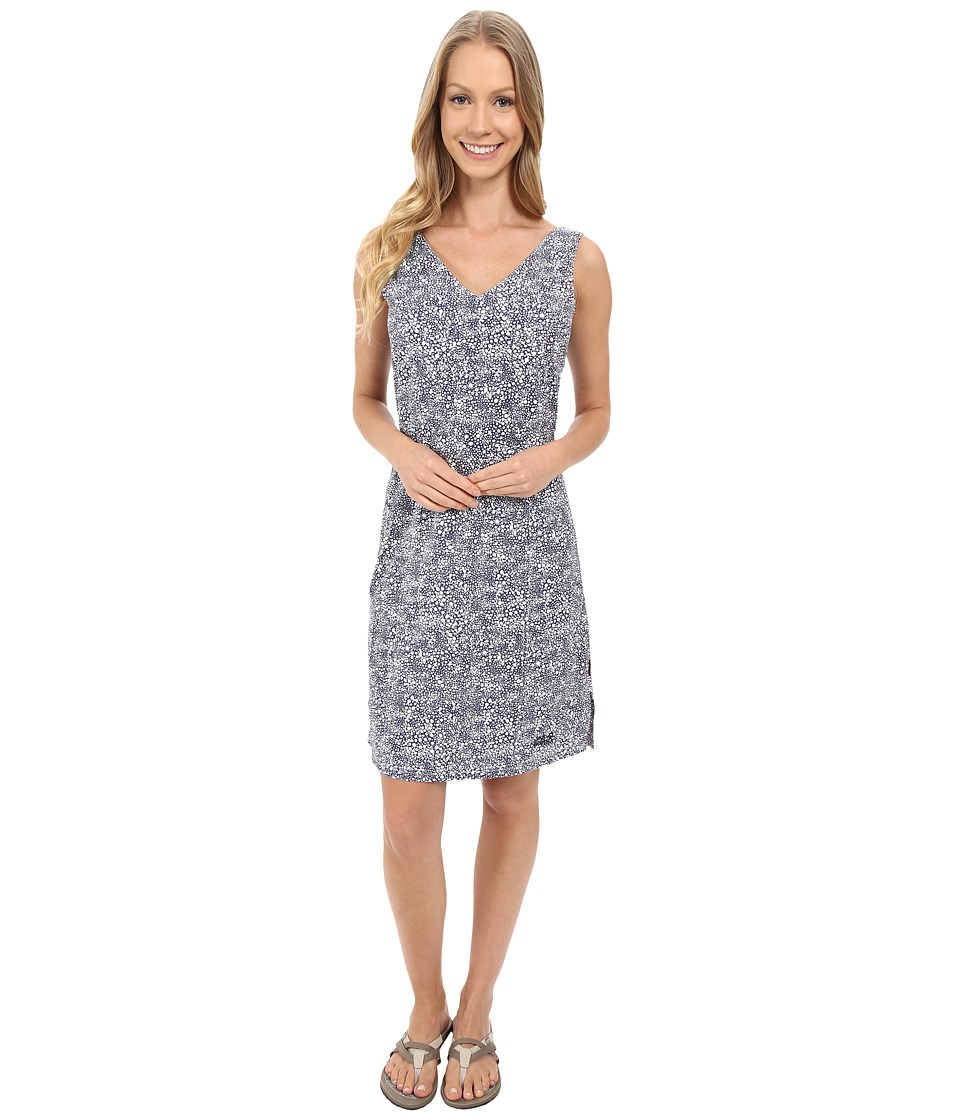 Jack Wolfskin Wahia Print Dress (Blue Indigo All Over) Women