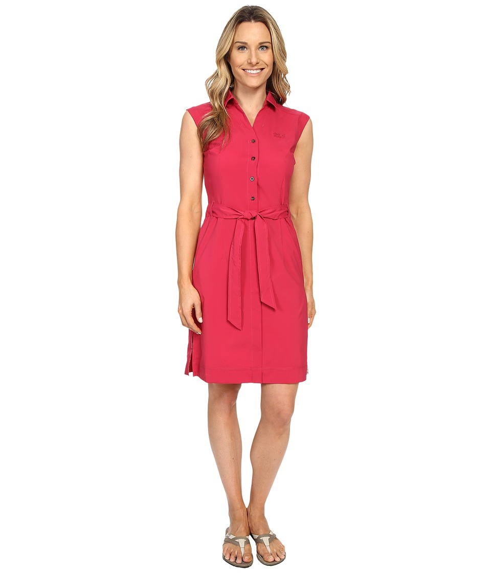 Jack Wolfskin Malawi Dress (Azalea Red) Women