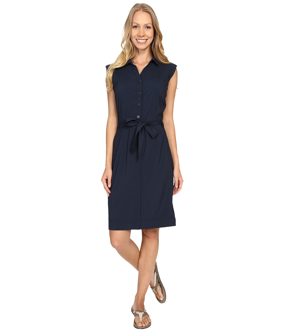 Jack Wolfskin - Malawi Dress (Night Blue) Women's Dress