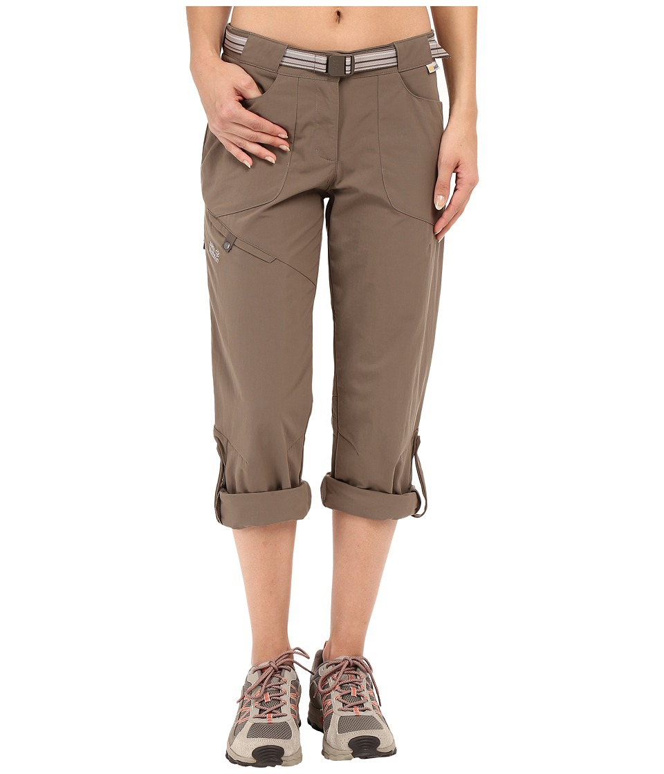Jack Wolfskin - Safari Roll-Up Pants (Siltstone) Women's Casual Pants