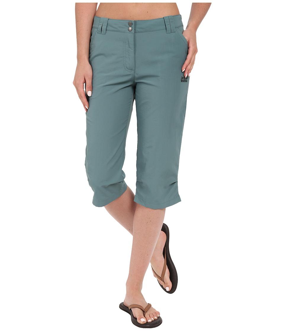 Jack Wolfskin - Kalahari 3/4 Pants (North Atlantic) Women's Casual Pants