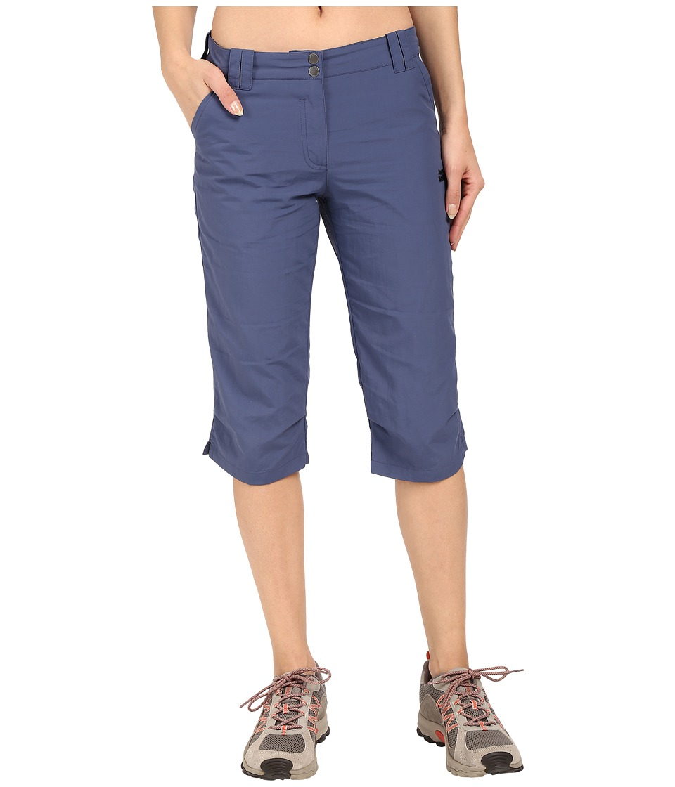 Jack Wolfskin - Kalahari 3/4 Pants (Blue Indigo) Women's Casual Pants