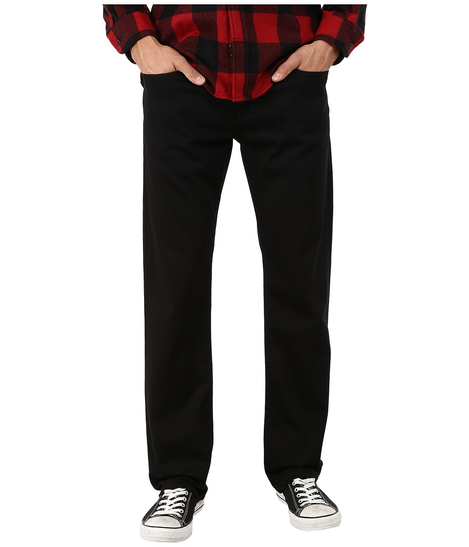 Mavi Jeans Zach Classic Straight Leg in Double Black Yaletown (Double Black Yaletown) Men