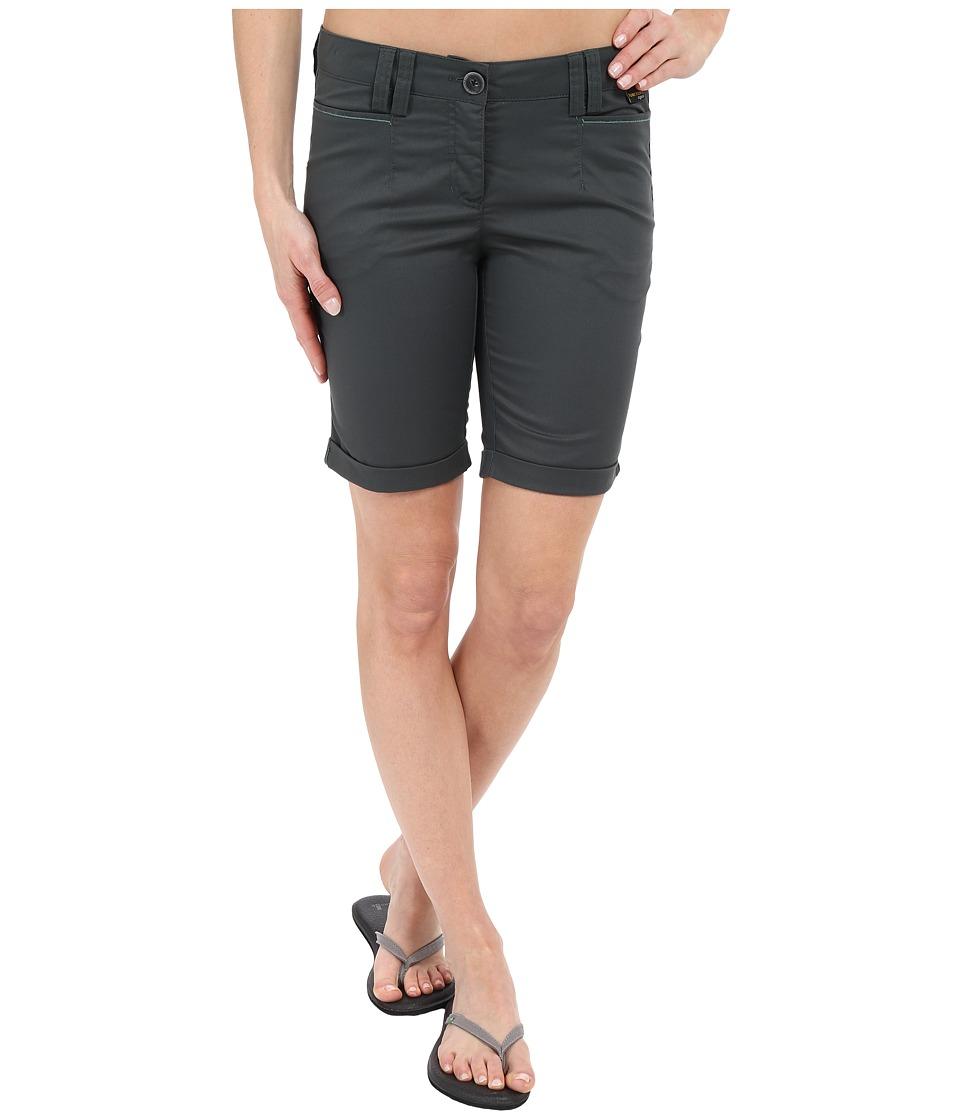 Jack Wolfskin - Liberty Shorts (Greenish Grey) Women's Shorts