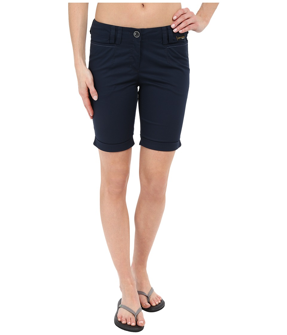 Jack Wolfskin - Liberty Shorts (Night Blue) Women's Shorts